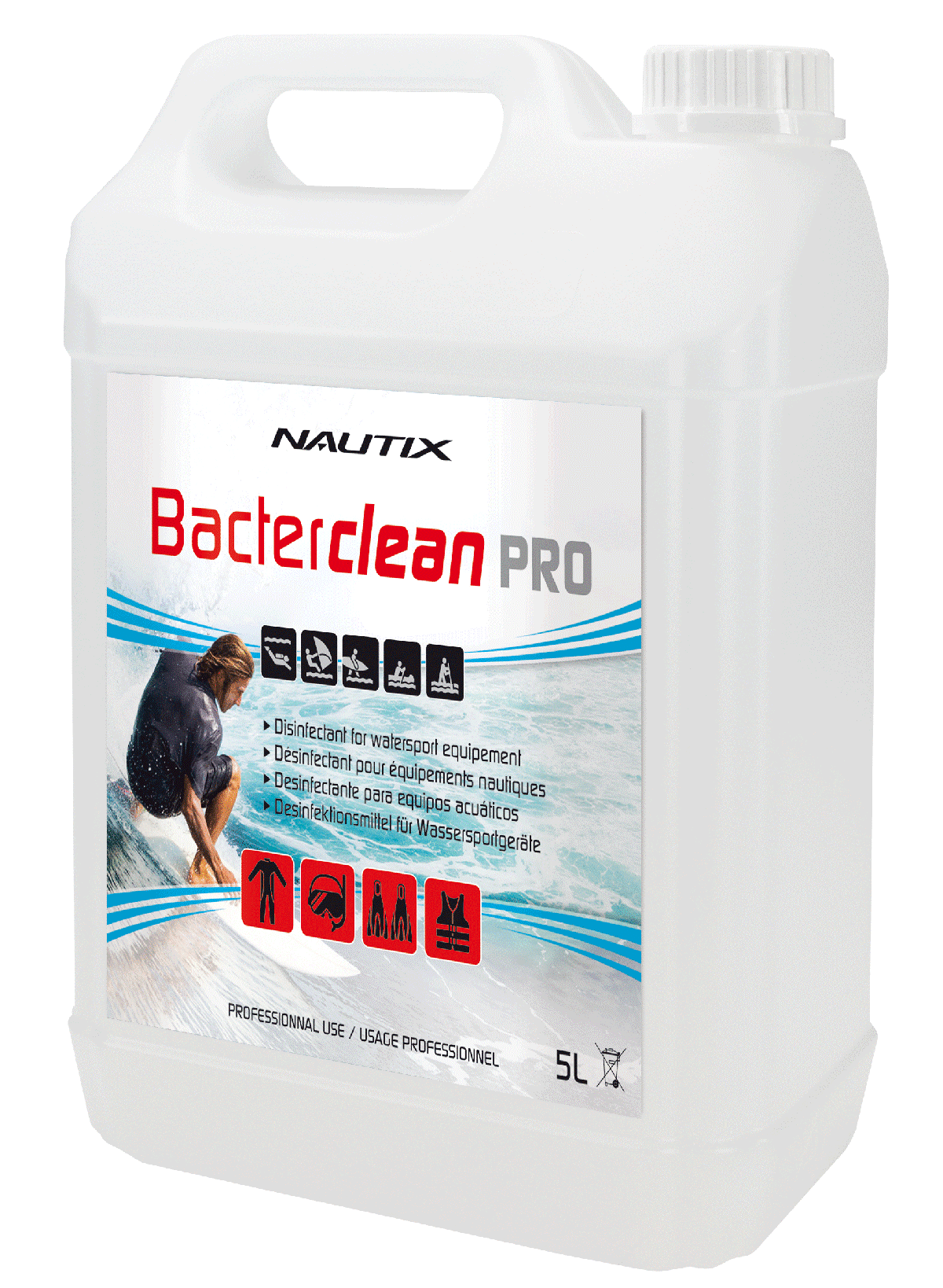 Nautix bacterclean pro 5L bidon