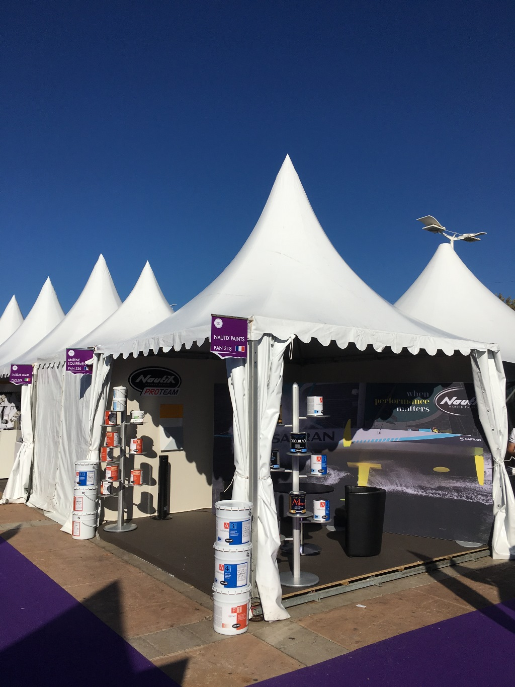 Nautix expose au Salon CANNES 2017