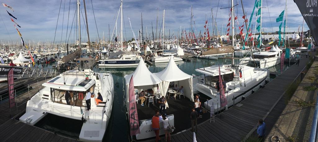 Stand Nautix at La ROchelle Boat show 2017